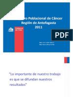 Registro Poblacional de Cáncer Región de Antofagasta 2011