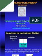 Soluciones No Electroliticas Diluidas