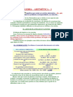 Algebra Documento de Microsoft Office Word