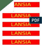 LANSIA