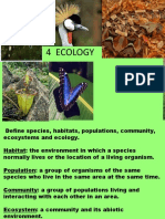 4.1 Communities and Ecosystems
