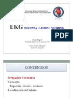 EKG SCA Necrosis y Lesion O.vega 2013