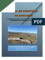 Manual de Practicas Ecología, Biotecnologia, 2017