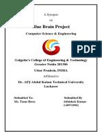 BlueBrain Abhishek Kumar