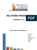 Relatório Igreja Ret
