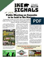 Smoke Signals Bulletin 1 - October 6th 2017