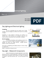Unit III -Day & Electrical Lighting