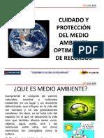 cuidado y proteccion del medio ambiente optimizacion de recursos.ppt