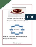 Apostila Simplificada de Metodologia Científica I Curso ESP. EM LIBRAS