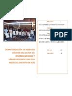 Caracterización de Residuos Sólidos Del Sector 10