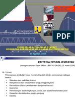 Kriteria Desain Teknik Jembatan