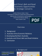 Thayer, Australia & China's Belt and Road Initiative