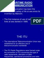 Maritime Radio Communication