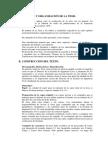 Formato y Organización de La Tesis