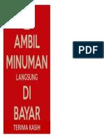AMBIL MINUMAN