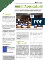 Briefing Note 3 - E-Government Applications (UN)