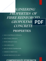 Engineering Properties of Fibre Reinforced Flyash Based Geopolymer