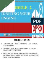 Topic 7 Local Legislative Process