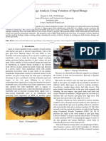 Spur Gear Damage Analysis Using Variation of Speed Range