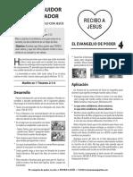 El Evangelio de Poder 04