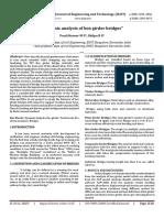 Dynamic Analysis of Box Girder Bridges