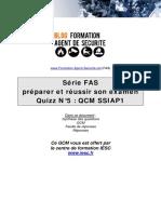 Quiz Fas n5 Ssiap1