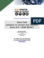 Quiz Fas n6 Ssiap1