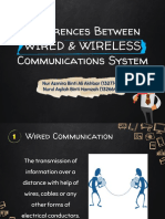 Diff Wire & Wireless Comm Slide