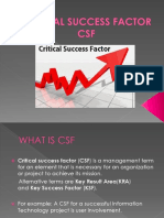 CSF ppt