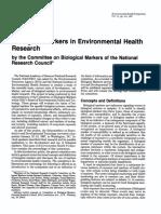 Biological Marker NRC 2001