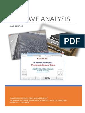 Kenpave Report Road Surface Filename