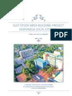 Final Report - Construction Project Management