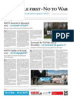 Put People First - No to War – No to NATO