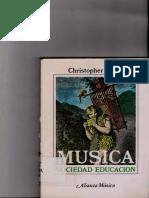 SMALL, Christopher-Musica, Sociedad y Eduación