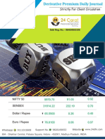 Derivative Premium Daily Journal-6th October 2017-Friday