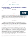 Dev't Bank of the Phil vs COA _ 144516 _ February 11, 2004 _ J