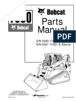 Bobcat S630 Service manual (taller , workshop) | Loader