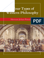 Types of Western Philosophy Pietersen