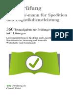 Kauffrau /-mann für Spedition und Logistikdienstleistung