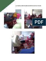 Kegiatan Pembinaan Kelas Ibu Hamil Di Dusun Danau Pauh