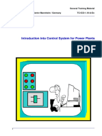 01 - Introduction Into Control System for Power Plants