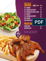 Steers Takeaway Menu