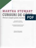 Cursuri de Gatit - Martha Stewart