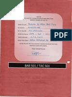 Assignment BAB501