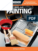 Black & Decker Here's How Painting - 29 Projects With Paint
