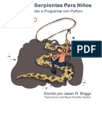 Snake Wrangling for Kids, Learning to Program With Python, Doma de serpientes para niños