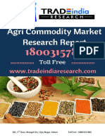 Weekly NCDEX Commodity Perdiction Report 09-10-2017 to 13-10-2017 by TradeIndia Research