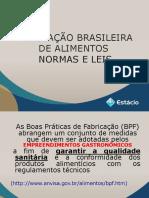 Aula 2 - Legislação Brasileira de Alimentos
