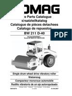 Parts Book BW211D-40