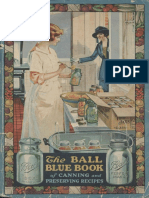 Ball Blue Book Canning old